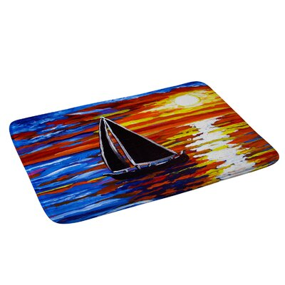 Renie Britenbucher Sunset Sail Bath Rug