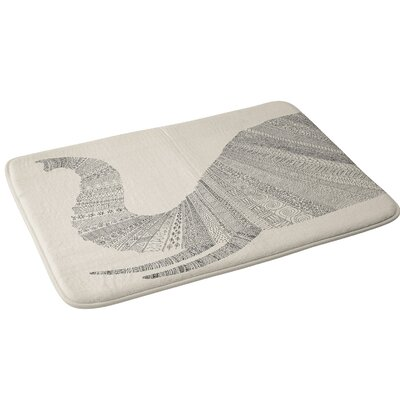 Florent Bodart Elephant Bath Rug
