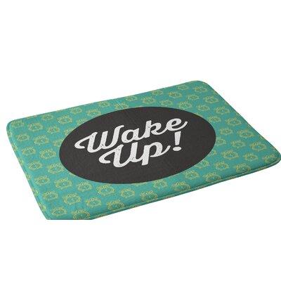 Allyson Johnson Wakey Wakey Bath Rug