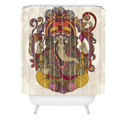 Valentina Ramos Lord Ganesh Shower Curtain