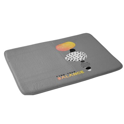 Elisabeth Fredriksson Find Your Balance Bath Rug