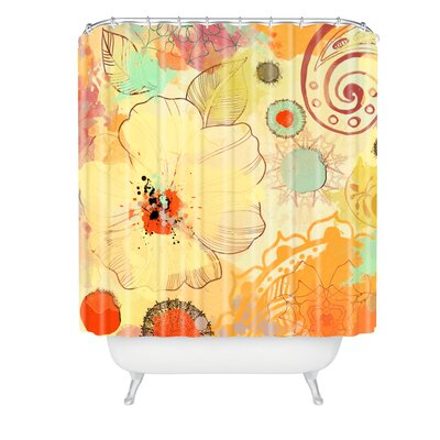 Irena Orlov Exotic Flowers Shower Curtain