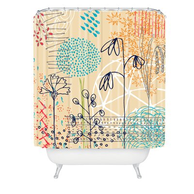 Kerrie Satava Spring Raindrops Shower Curtain