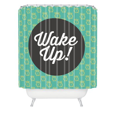 Allyson Johnson Wakey-Wakey Shower Curtain