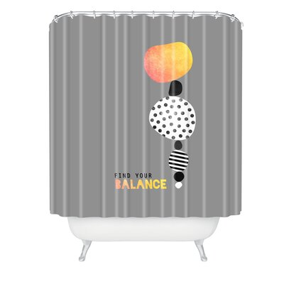 Elisabeth Fredriksson Balance Shower Curtain