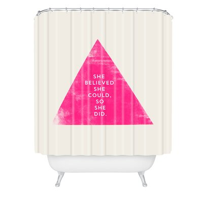 Allyson Johnson She Believed She Could Shower Curtain
