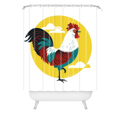 Lucie Rice Strut Shower Curtain