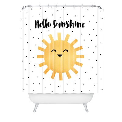 Elisabeth Fredriksson Hello Shower Curtain