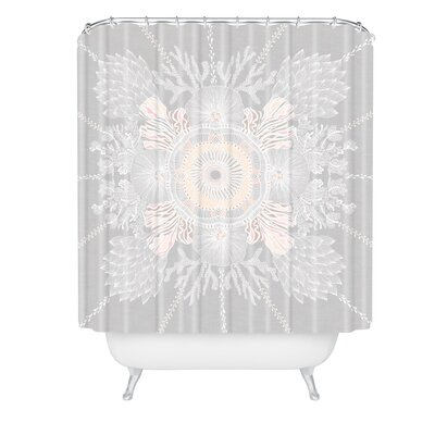 Iveta Abolina Bermuda Rose Shower Curtain