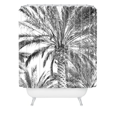 Lisa Argyropoulos San Diego Palms Shower Curtain