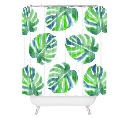Laura Trevey Going Shower Curtain