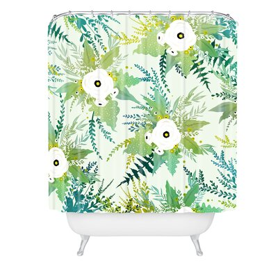 Iveta Abolina Lula Garden Shower Curtain