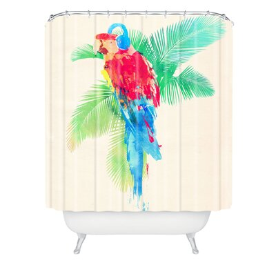 Robert Farkas Tropical Party Shower Curtain