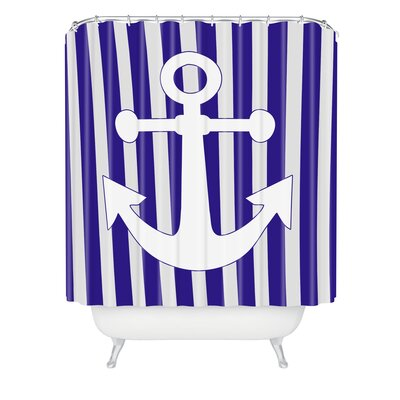 Lara Kulpa Anchor Shower Curtain