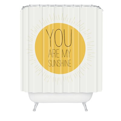 Allyson Johnson You Are My Sunshine Shower Curtain