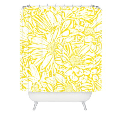 Lisa Argyropoulos Daisy Daisy In Sunshine Shower Curtain