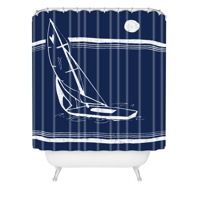 Leeana Benson Midnight Ride Shower Curtain