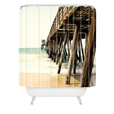 Bree Madden Down By The Pier Shower Curtain