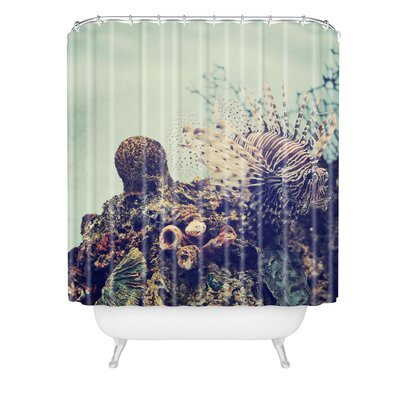 Chelsea Victoria Aqua Life Shower Curtain
