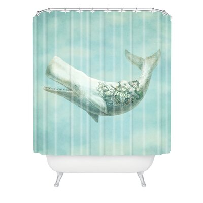 Eric Fan Far And Wide Shower Curtain