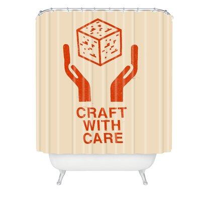 Florent Bodart Craft With Care Shower Curtain