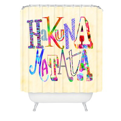 Fimbis Hakuna Matata Shower Curtain