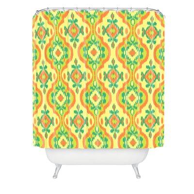 Arcturus Citric Magic Carpet Shower Curtain