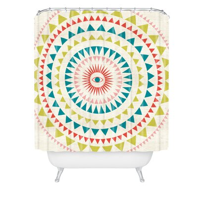 Zoe Wodarz Zen Morning Shower Curtain