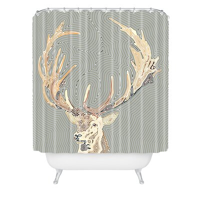 John Turner Jr Inconspicuous Shower Curtain