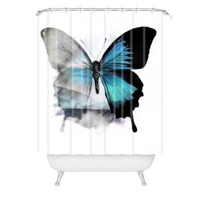 Emanuela Carratoni The Butterfly Shower Curtain