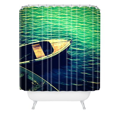 Krista Glavich Monterey Boats Shower Curtain