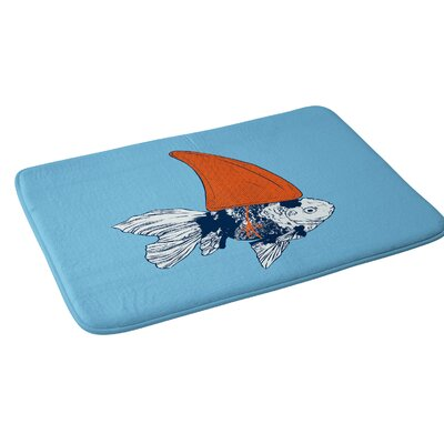 Evgenia Chuvardina Big fish in a small pond Bath Rug