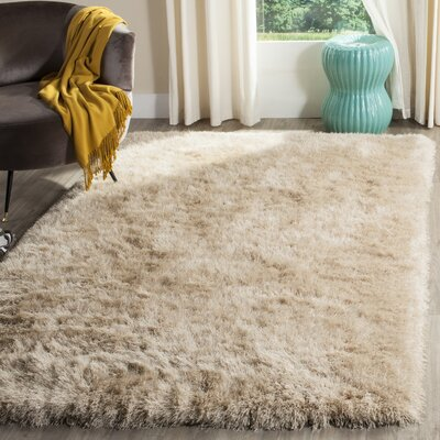 Zion Champagne Area Rug Rug Size: Rectangle 4 x 6