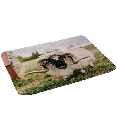 Chelsea Victoria The Curious Sheep Bath Rug