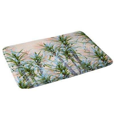 Marta Barragan Camarasa Pastel Palm Trees Bath Rug