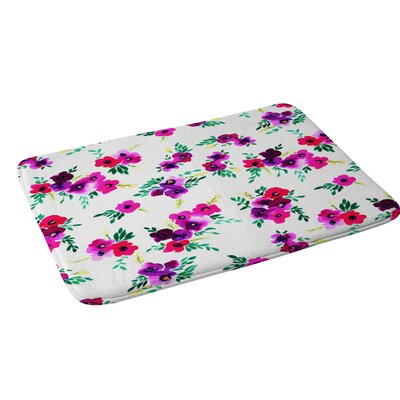 Amy Sia Ava Floral Bath Rug