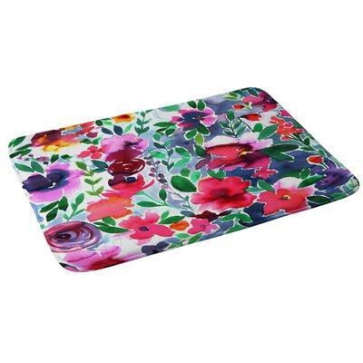 Amy Sia Evie Floral Bath Rug