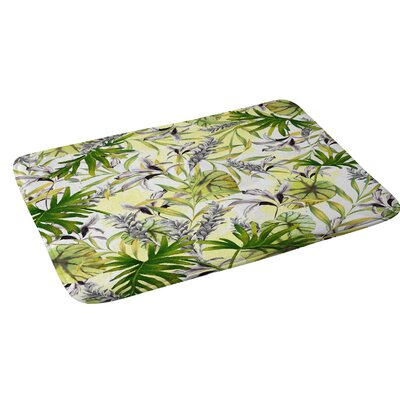 Marta Barragan Camarasa Stylish Jungle Bath Rug