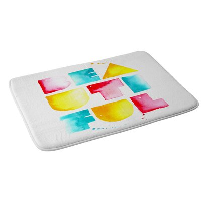CMYKaren Beautiful Bath Rug