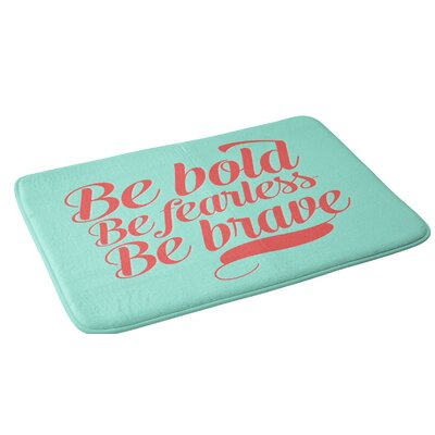 Allyson Johnson Bold and Brave Bath Rug