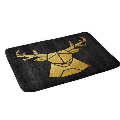 Nick Nelson Deer Symmetry Bath Rug