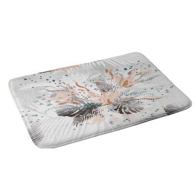 Iveta Abolina Tropical Silver Bath Rug
