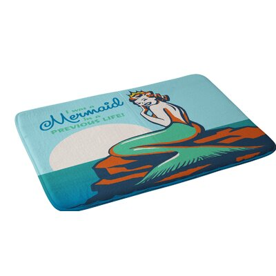 Anderson Design Group Mermaid In A Previous Life Bath Rug