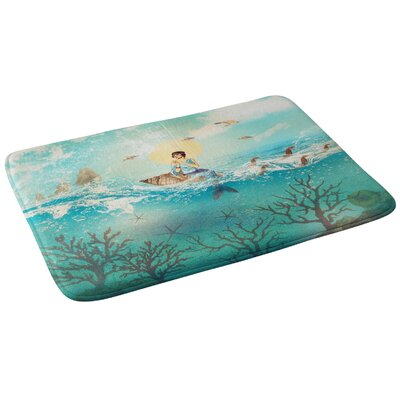 Belle13 The Queen Mermaid Bath Rug