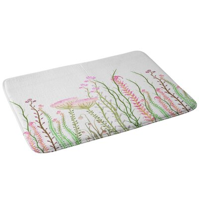 Monika Strigel Grasshoppers Paradise Bath Rug
