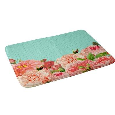 Allyson Johnson Sweetest Floral Bath Rug