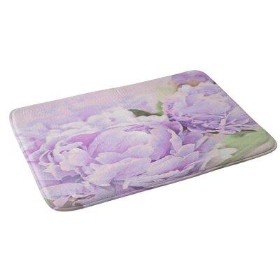 Lisa Argyropoulos Lavender Peonies Bath Rug
