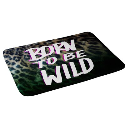 Leah Flores Born To Be Wild Bath Rug