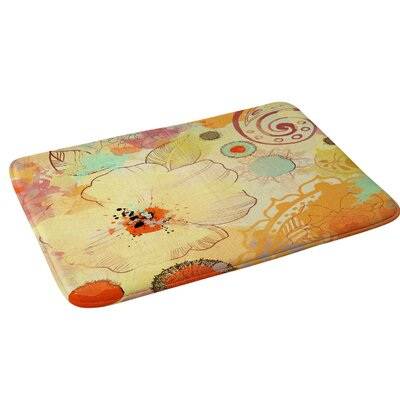 Irena Orlov Exotic Flowers Bath Rug