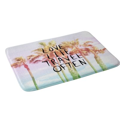 Lisa Argyropoulos Love Life Travel Often Tropical Bath Rug